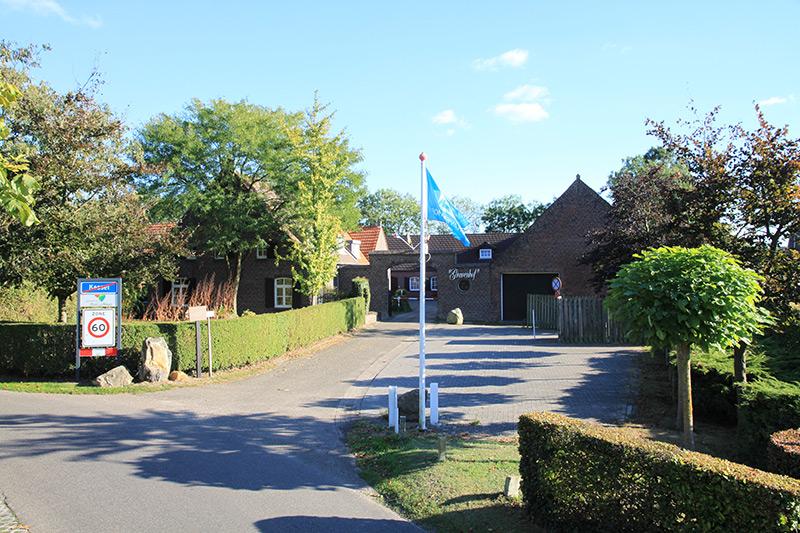 Camping Gravenhof ingang