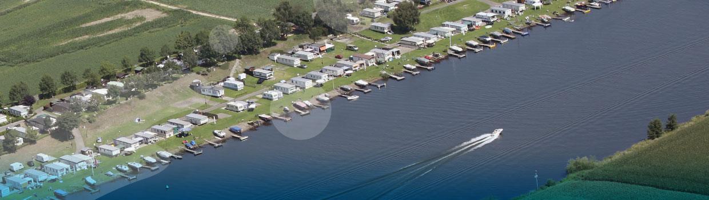 Route naar watersportcamping Gravenhof header